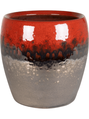 Amora Couple Black Red 17 - Planter