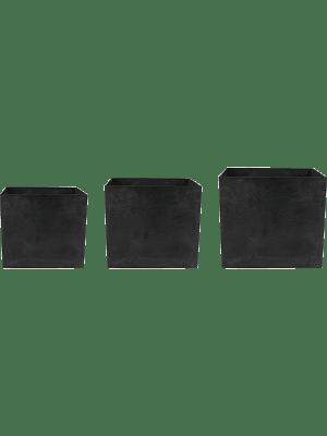 Artstone Maud Pot Black (S3)  - Plantenbak