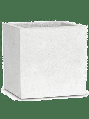 Capi Lux Pot square V light grey  - Planter