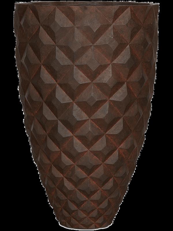 capi Capi Lux Heraldry Gefäß elegant I Rost 44 - Pflanzgefasse - Main image