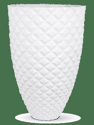 Capi Lux Heraldry Gefäß elegant I Weiß 44 - Pflanzgefasse