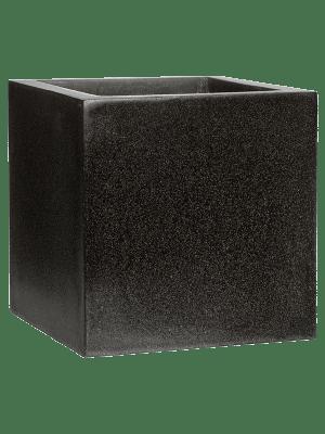 Capi Lux Pot carré VI noir  - Bac
