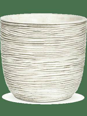 Capi Nature Pot oeuf strié II ivoire 15 - Bac