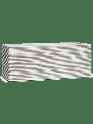 Capi Nature Rectangle strié II ivoire  - Bac