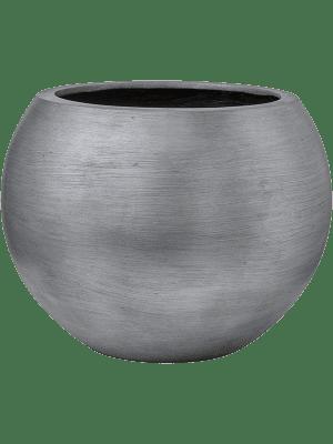 Capi Nature Retro Gefaß Kugel Silber 40 - Pflanzgefasse