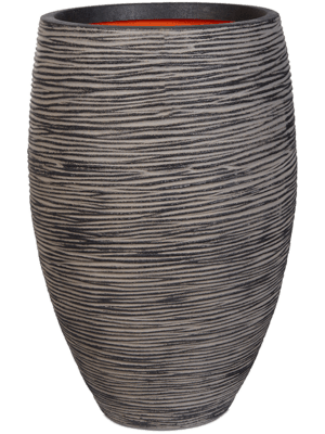 Capi Nature Rib NL Vase élégant deluxe anthracite 40 - Bac