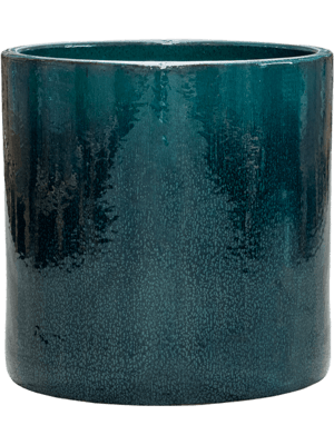 Cylinder Pot Ocean Blue 50 - Bac