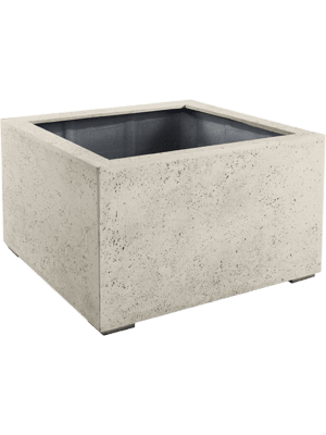 Grigio Low Cube Antique White-concrete  - Bac