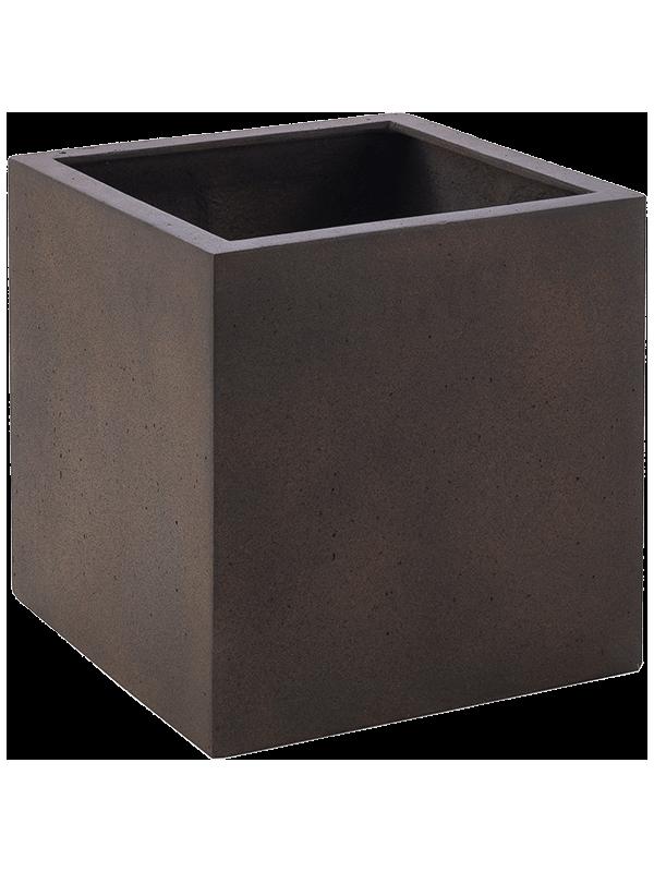 luca lifestyle Grigio Cube Rusty Iron-concrete  - Bac - Main image