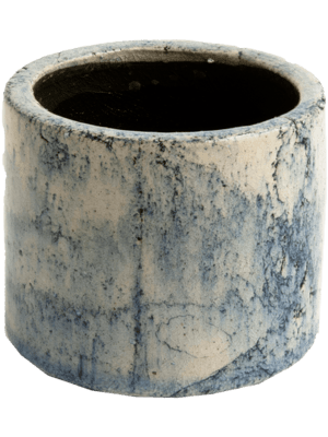 Fracture Large Orchidpot Petrol 17 - Pflanzgefasse