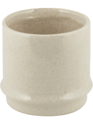 Hurl Large Orchidpot Creme 17 - Planter