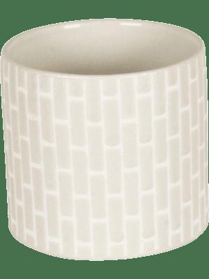 Bandeau Pot Creme 20 - Plantenbak