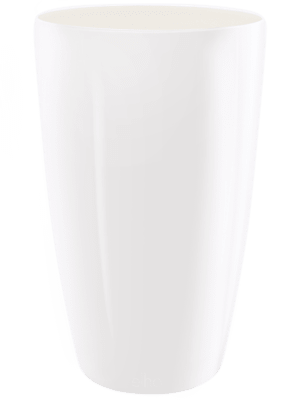 Brussels® Diamond Round HighWhite 27 - Planter