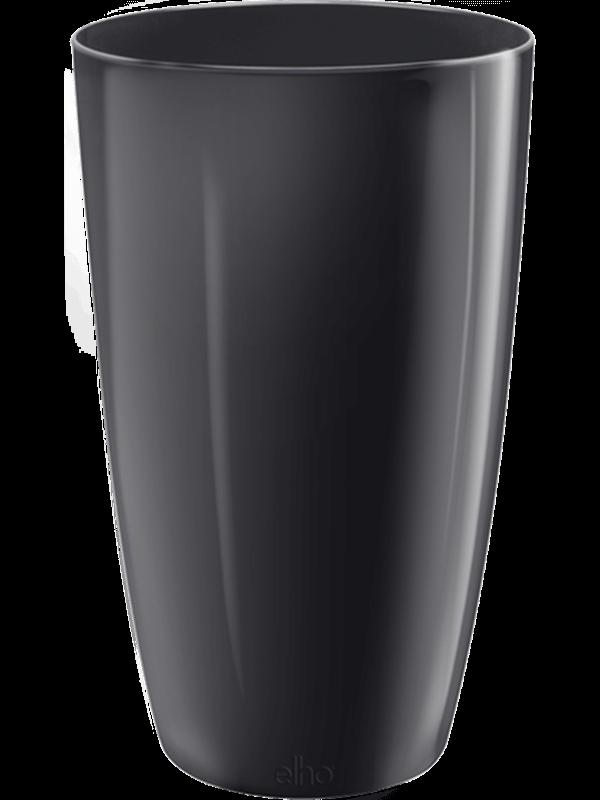 elho Brussels® Diamond Round High Metallic black 32 - Bac - Main image