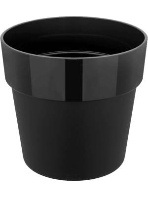 B. For Original Round Living Black 22 - Pflanzgefasse