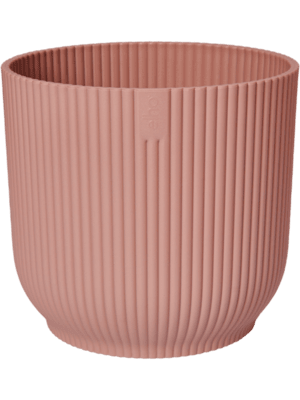 Vibes Fold Round Delicate Pink 14 - Planter