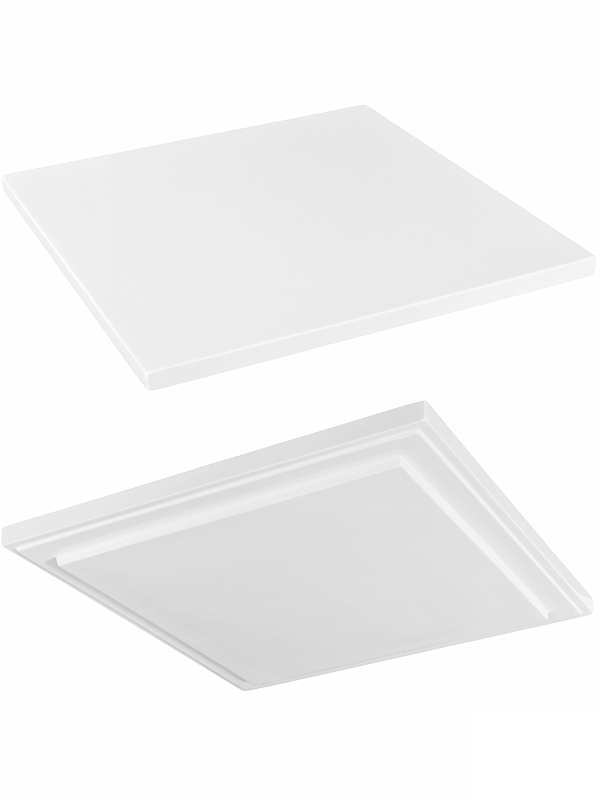 Fiberstone Topper L Glossy White (thin) - Main image