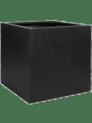 Fiberstone Block black XXL  - Pflanzgefasse