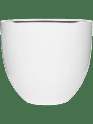 Fiberstone Glossy white jesslyn L 70 - Planter