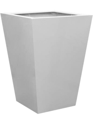 Fiberstone Glossy white jumbo thom L  - Planter
