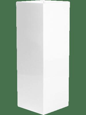 Fiberstone Glossy white ying  - Plantenbak