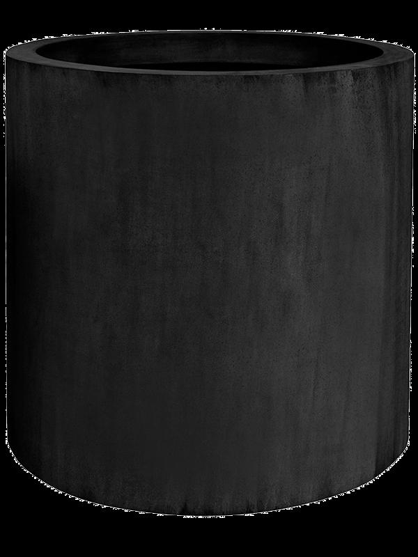 pottery pots Fiberstone Jumbo max black M 70 - Planter - Main image