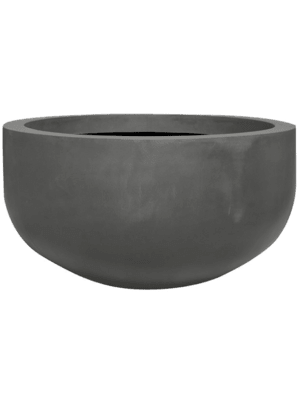 Fiberstone City bowl grey S 92 - Planter
