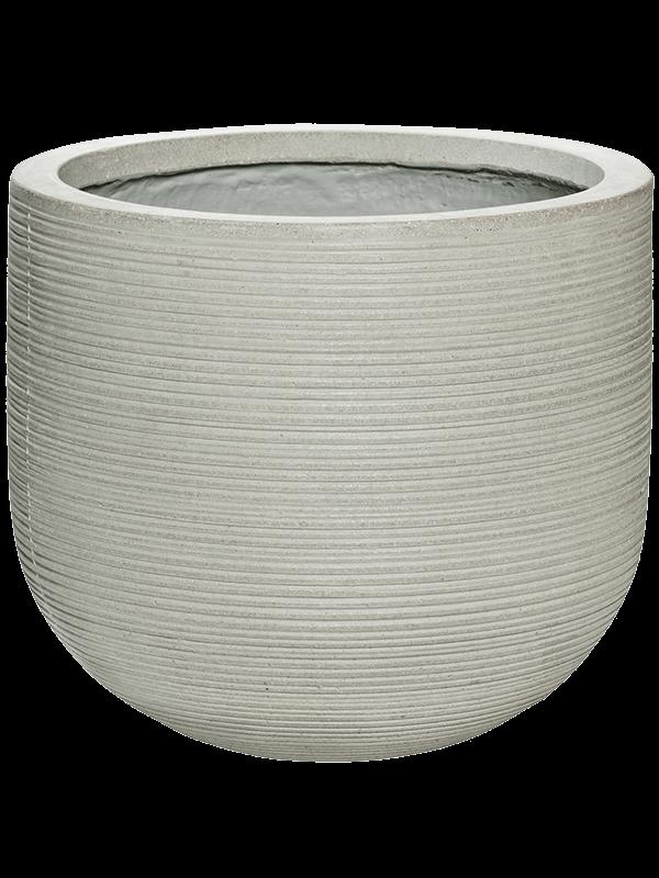 pottery pots Ridged Horizontally Cody M Cement 35 - Pflanzgefasse - Main image