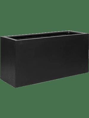 Fiberstone Jort black  - Plantenbak