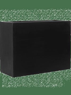 Fiberstone Jort black L  - Pflanzgefasse
