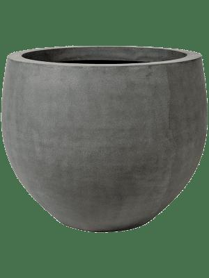 Fiberstone Jumbo grey orb L 133 - Pflanzgefasse