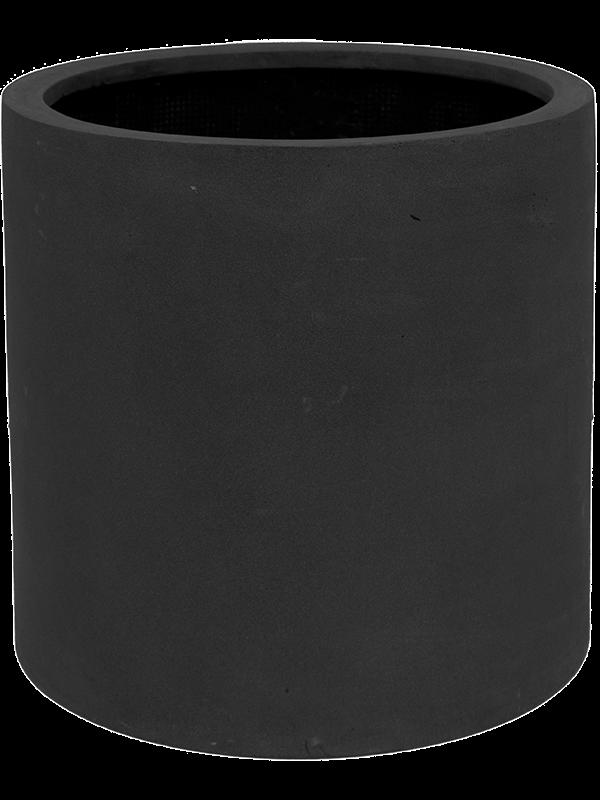pottery pots Fiberstone Max black M 43 - Bac - Main image