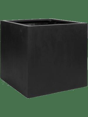 Fiberstone Block black L  - Planter
