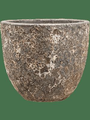 Lava Couple relic rust metal 36 - Pflanzgefasse