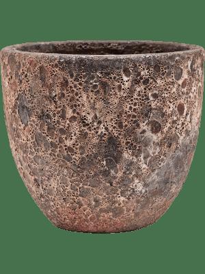 Lava Couple relic pink 36 - Pflanzgefasse
