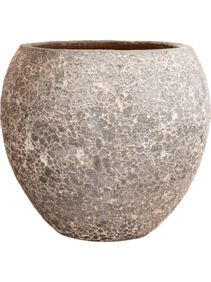 Lava Balloon relic rust metal 60 - Pflanzgefasse