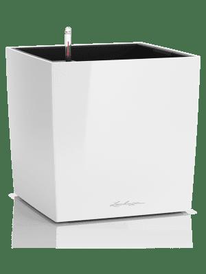 Lechuza Cube Premium All inclusive set blanc brillant  - Bac