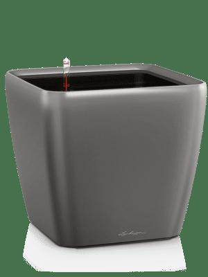 Lechuza Quadro LS All inclusive set antraciet  - Plantenbak