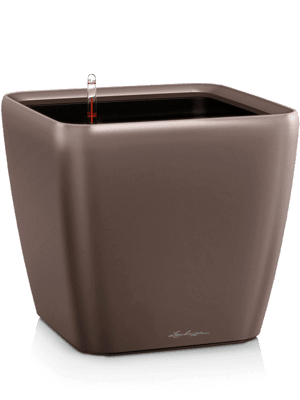 Lechuza Quadro LS All inclusive set espresso  - Plantenbak