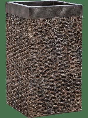 Luxe Lite Universe Layer Square Bronze  - Plantenbak