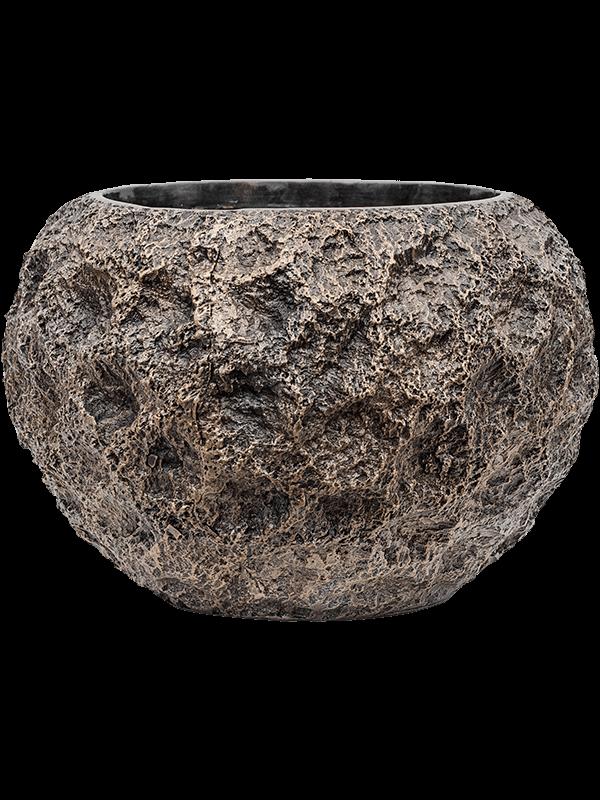 baq Luxe Lite Universe Moon Globe bronze 39 - Planter - Main image