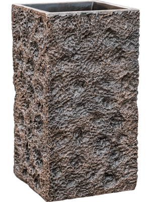 Luxe Lite Universe Moon Square Bronze  - Plantenbak