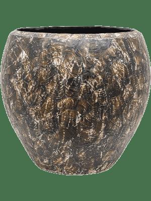 baq Oceana Cracked Pearl Couple Black Brown 60 - Plantenbak
