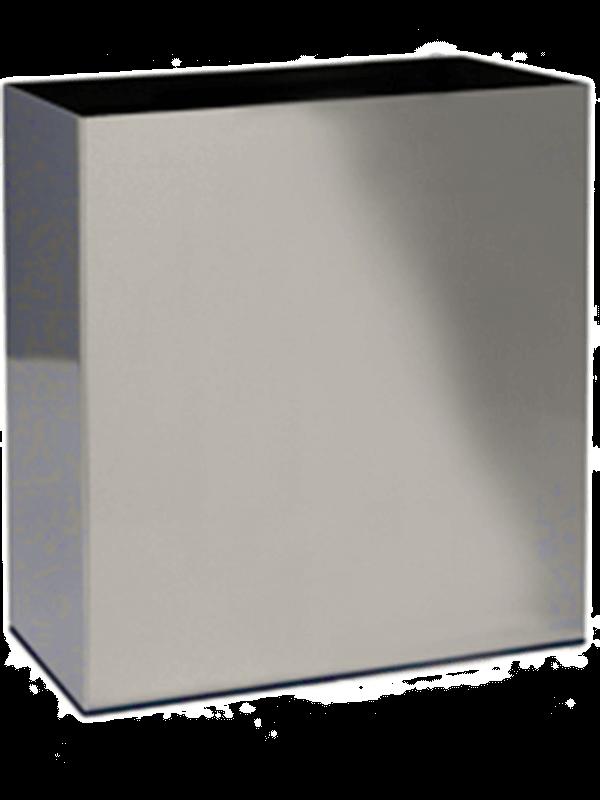 superline Parel Edelstahl gebürstet Auf Filz (2mm)  - Pflanzgefasse - Main image