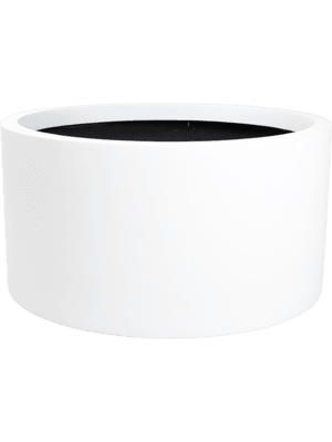 Charm Cylinder White 70 - Plantenbak