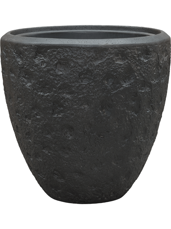 baq Polystone Rockwell Couple Smoke (with liner) 50 - Planter - Main image