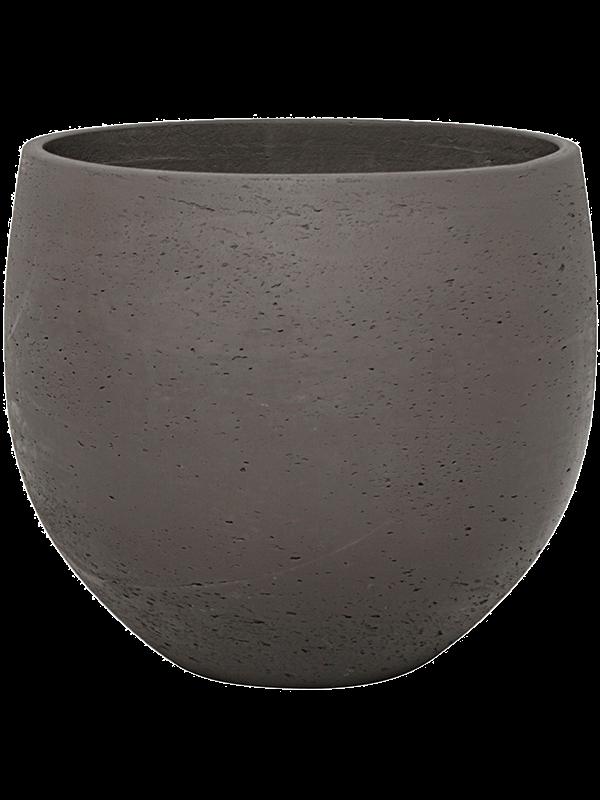 pottery pots Rough Mini orb S chocolate 18 - Bac - Main image