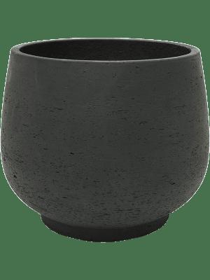 Rough Mini Pixie L Black Washed 31 - Pflanzgefasse