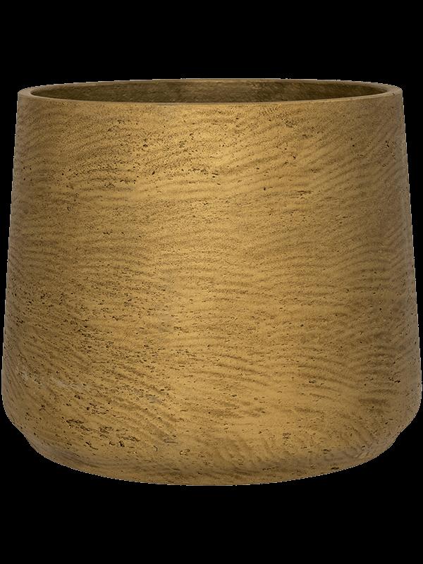 pottery pots Rough Patt L Metallic Gold 20 - Pflanzgefasse - Main image