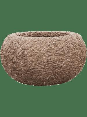 Polystone Coated Kamelle Bowl Rock 73 - Bac